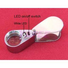 Lupa Triplet 30x Con Luz LED