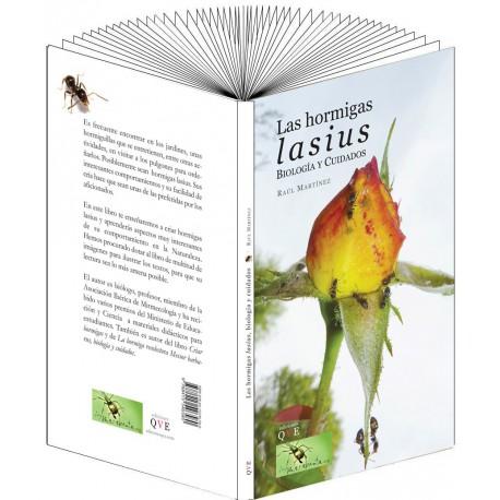 La hormiga Lasius, biología y cuidados (Raul Martinez) Books Anthouse