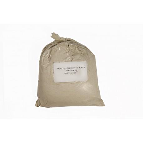 (Weiß) Mischsand/ Lehm 1000g Materialien Anthouse