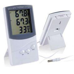 Digitales Thermometer und Hygrometer intern/extern Weiteres Zubehör