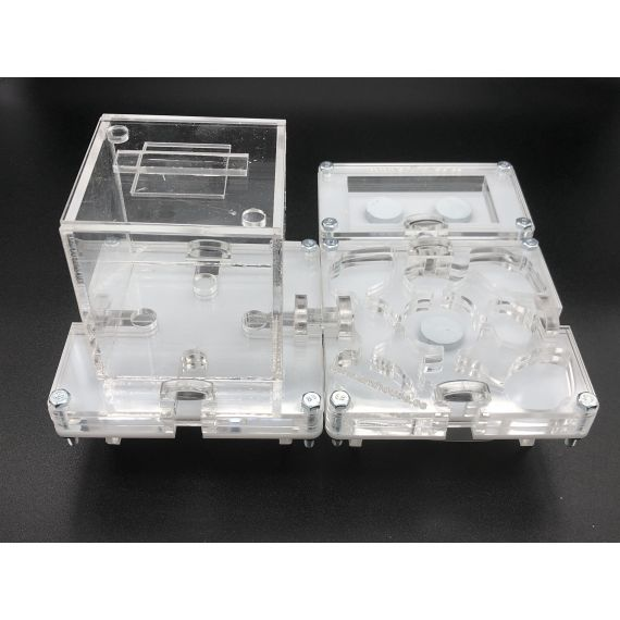 Kit Modular Seta (10x10 Modular, Modulo de humedad y Caja Modular Pequeña)  Hormiguero Modular Seta