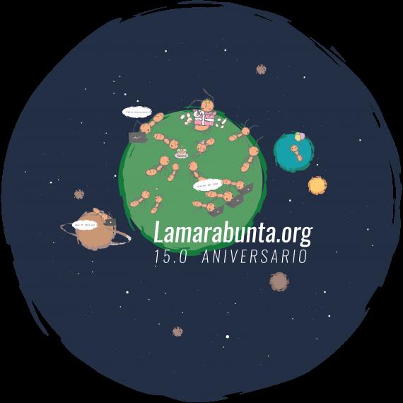 Camisetas 15 Aniversario lamarabunta.org  Souvenirs