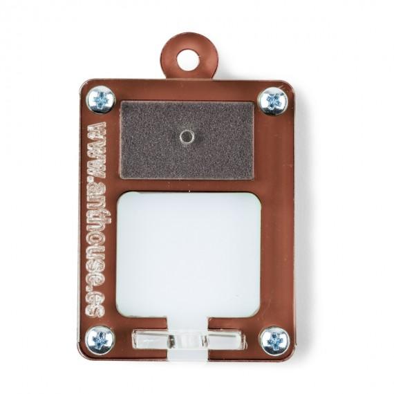 AntHouse Mini Hormiguero Porta Reinas 5x4x1,3cms Anthouse De Acrílico