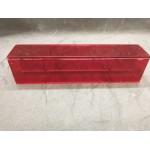 AntBox Tubular - Tapa roja incluida (5x5 cms) Anthouse Cajas de Forrajeo