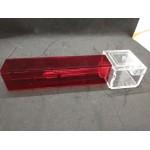 AntBox Tubular Medium - Tapa roja incluida Anthouse Cajas de Forrajeo