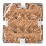 10x10x1,5 cms Modular Colored Cork Cork