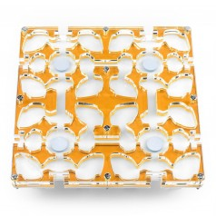 20x20x1,5 cms Modular Seta de Colores  Hormiguero Modular Seta