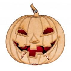 La citrouille d'Halloween