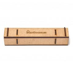 Reagenzglasbehälter aus Holz