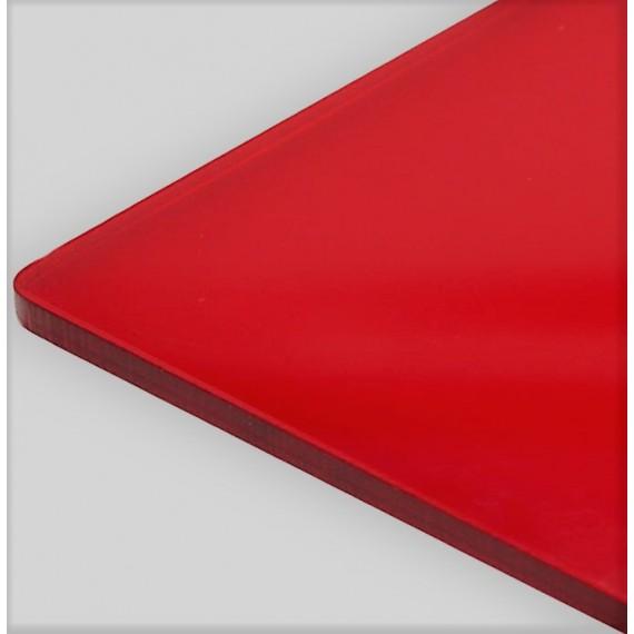 Metacrilato Rojo, Corte láser, A1-A6 Anthouse Materiales