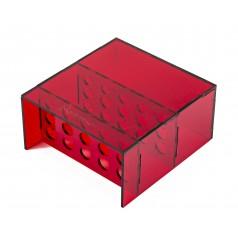 Gradilla - Contenedor de Tubos de Ensayo Anthouse Cajas de Forrajeo