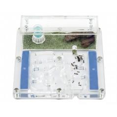 AntHouse-Medium-Acri 15x15x1,3cms (Con Tapadera) Anthouse De Acrílico