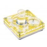 Acrilico NaturColor 10x10x1,5cms Esponja Con Deposito Anthouse  Hormigueros