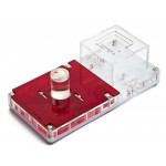 Acrilico NaturColor 10x20x1,5cms Esponja Con Deposito Anthouse  Hormigueros