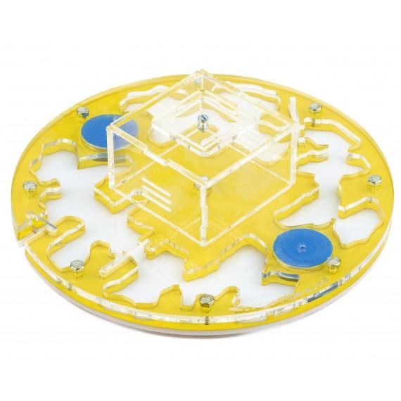 AntHouse-Big3-Circulo 20x20x1,3cms (Con Tapadera) Anthouse De Acrílico
