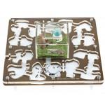 AntHouse-Hori-Acri 20x20x1.5 (Mushroom) Acrylic Anthouse
