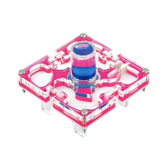 10x10x1,5 cms Modular Deposito de Colores  Hormigueros Modulares
