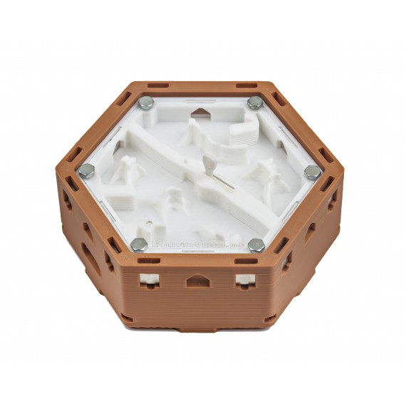 Modular Hexagonal 3D Anthill - Magnets - Evaporation by Galleries Ant's Nests 3D