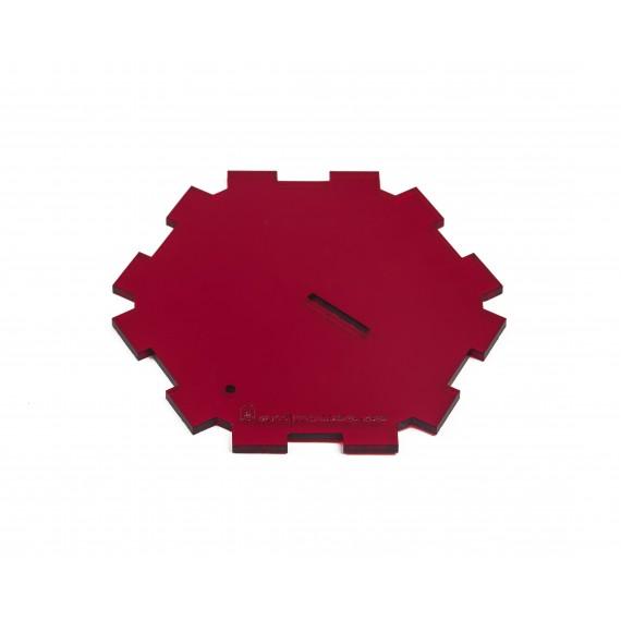 Tapa roja para Carcasas  Hormigueros 3D