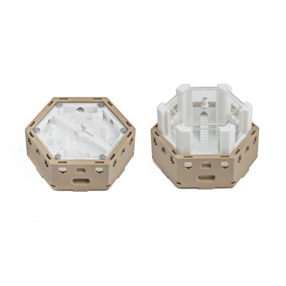 Modular Kit 3D -Magnets - Evaporation Galleries Ant's Nests 3D