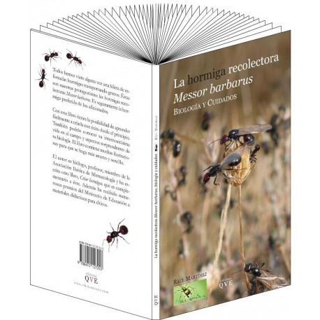 La hormiga recolectora Messor barbarus, biología y cuidados(Raul Martinez) Books Anthouse