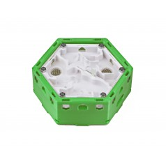 Hormiguero Modular Hexagonal 3D - Imanes -  Hormigueros 3D Modulares