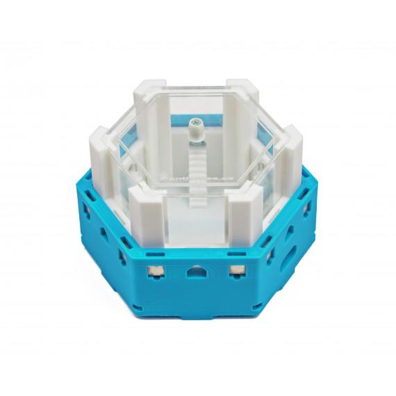 Caja de Forrajeo Modular Hexagonal 3D - Imanes -  Hormigueros 3D Modulares