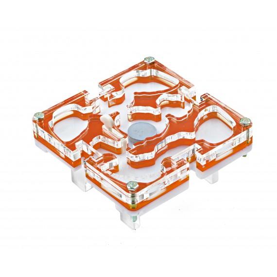 10x10x1,5 cms Modular Seta de Colores  Hormiguero Modular Seta