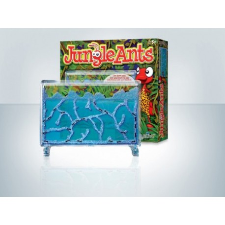 Hormiguero de gel (JungleAnts) (Hormigas Incluidas Gratis) Anthouse Educativos para niños