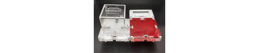 Fourmilière aux champignons par modules, idéal pour les colonies de fourmis avec reine